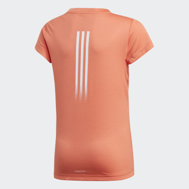 Kids Yoga Orange AEROREADY Tee