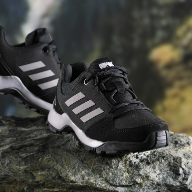 Children Hiking Black Terrex Hyperhiker Low Hiking Shoes