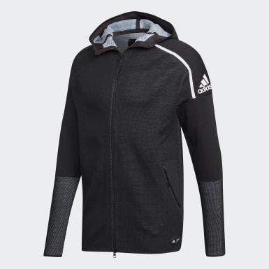 Men Athletics Black adidas Z.N.E. Parley Primeknit Hoodie