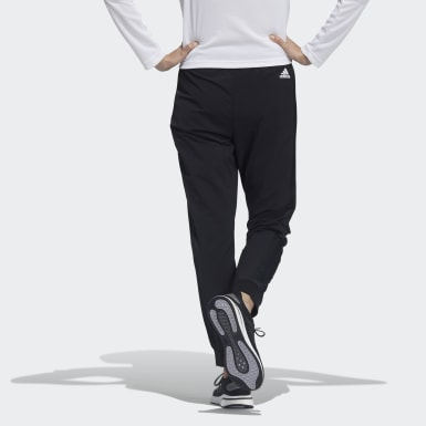 Women Athletics Black Woven Pants