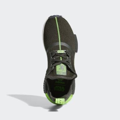 Børn Originals Grøn NMD_R1 Star Wars sko