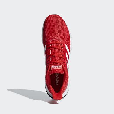 Tenis Runfalcon Rojo Hombre Running