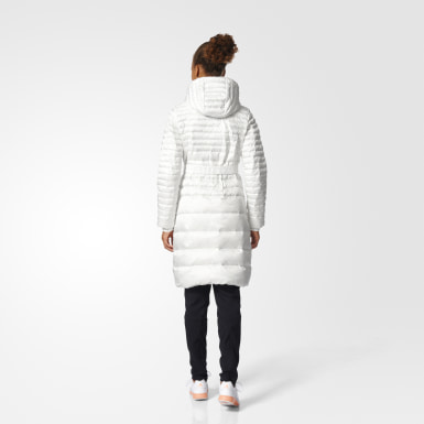 белый Утепленное пальто Timeless