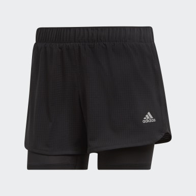 Pantalón corto M10 Negro Mujer Running