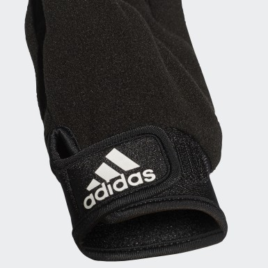 Football Black Fieldplayer Goalkeeper Gloves
