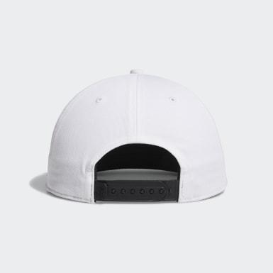 ผู้ชาย กอล์ฟ สีขาว หมวก Printed Bill