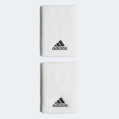 Tennis Tennis Schweißband, L Weiß