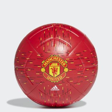 Pallone Club Manchester United Rosso Calcio