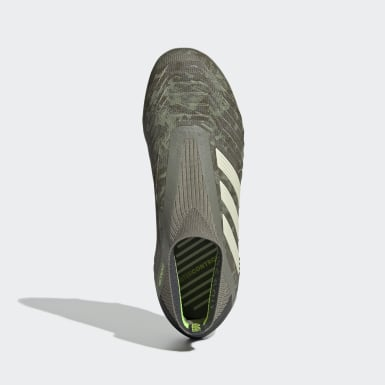 Chaussure Predator 19+ Terrain souple Vert Enfants Football
