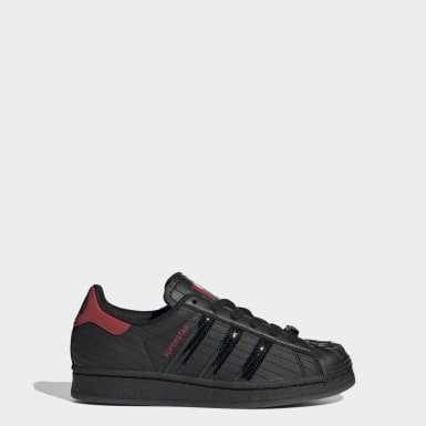 Chaussure Superstar Star Wars Noir Enfants Originals