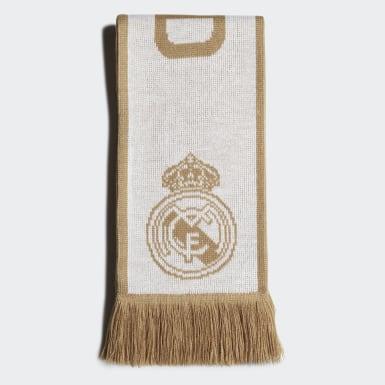 Fodbold Hvid Real Madrid tørklæde