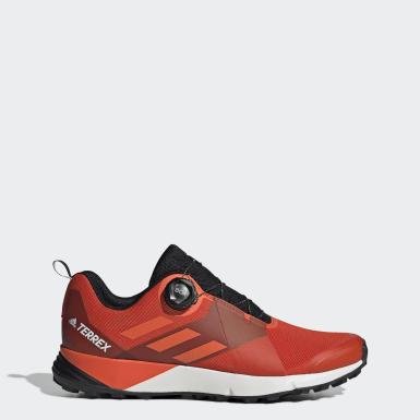 Men TERREX Orange Terrex Two Boa Shoes