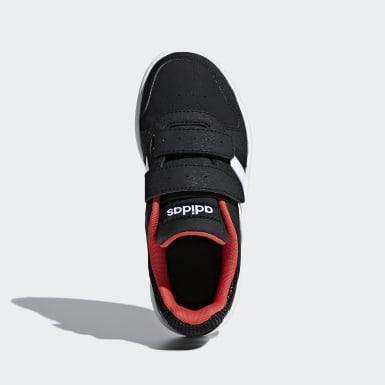 Sapatos VS Hoops 2.0 Preto Criança Basquetebol