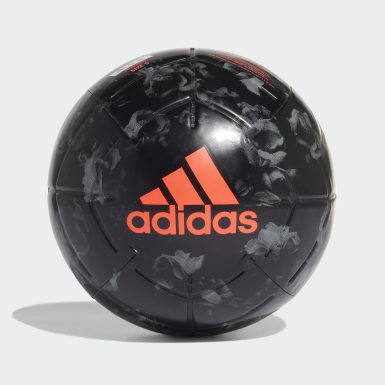 Men's Soccer Black Manchester United Capitano Ball