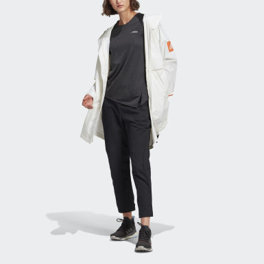 Dames Urban Outdoor Wit MYSHELTER WIND.RDY Parka