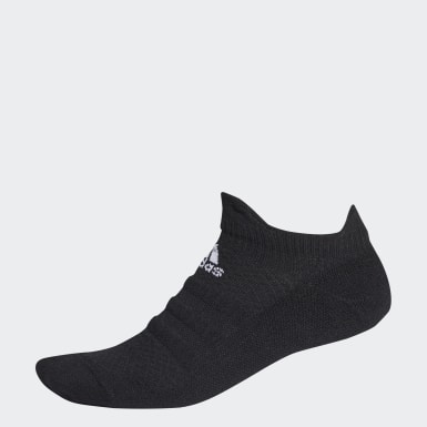 Löpning Svart Alphaskin Low Socks