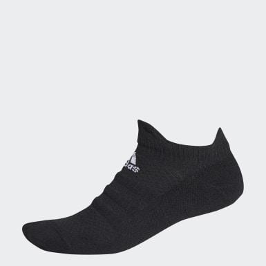 Løb Sort Alphaskin Low sokker