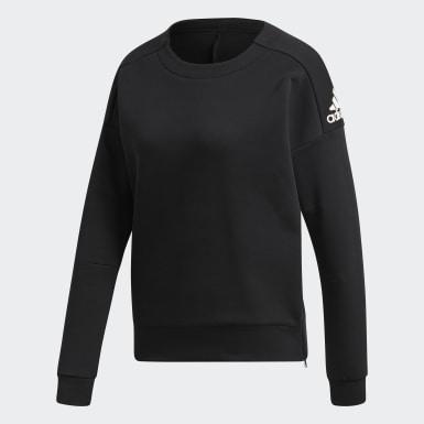 Sweat-shirt ID Stadium Noir Femmes Athletics