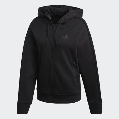 Veste à capuche Versatility Full-Zip noir Femmes Athletics