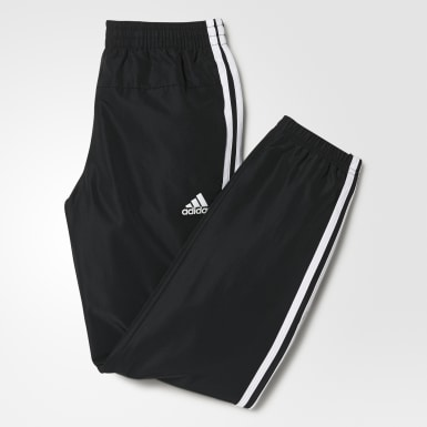 Youth Training Black Training Gear Up Woven Pant Closed Hem