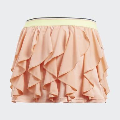 оранжевый Юбка для тенниса Frilly