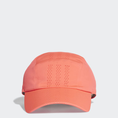 Cappellino Perforated Runner Rosa Training