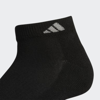 Women's Training Black Athletic Low-Cut Socks 6 Pairs