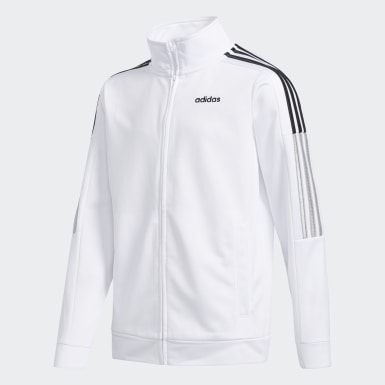 Youth Training White Core Jacket