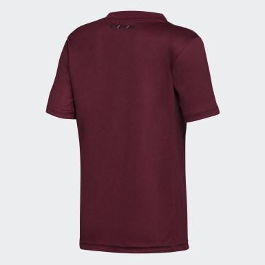 Camiseta de Visitante River Plate Niño Burgundy Niño Fútbol