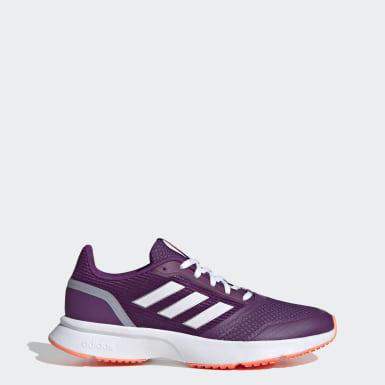 Tenis Nova Flow Violeta Mujer Running