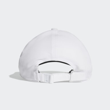 Training White C40 3-Stripes Climalite Cap