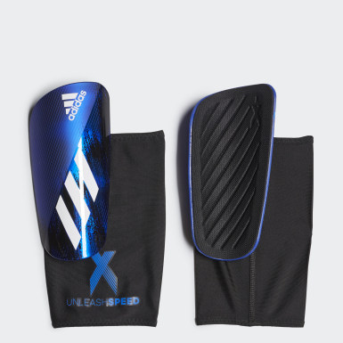 Football Black X 20 League Shin Guards