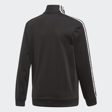 Chlapci Originals čierna Tepláková bunda