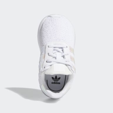 Kids Originals White LA Trainer Lite Shoes