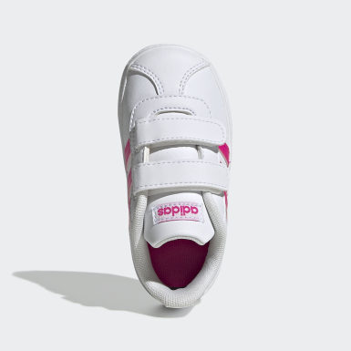 Girls Lifestyle White VL Court 2.0 Shoes