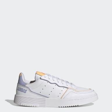 Kvinder Originals Hvid Supercourt sko
