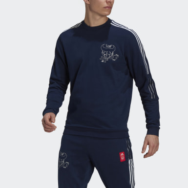Men Football Blue Arsenal CNY Crew Sweatshirt