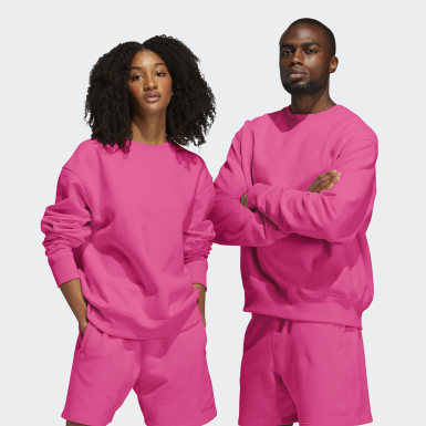Originals Pink Pharrell Williams Basics Crew Sweatshirt (Gender Neutral)