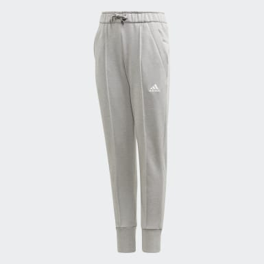 Girls Training Grey UP2MV AEROREADY Tapered-Leg Pants
