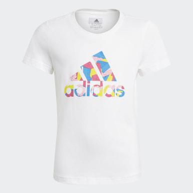 Mädchen Training LEGO Classics Graphic T-Shirt Weiß