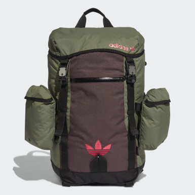 Originals Röd Adventure Toploader Backpack