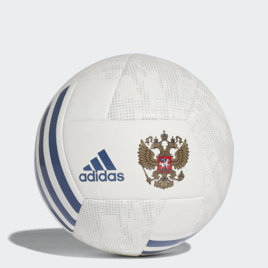 Men Football White Russia Ball
