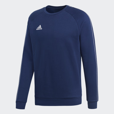 Sweat-shirt Core 18 Bleu Hommes Training
