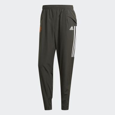 Pantaloni da rappresentanza Manchester United FC Verde Uomo Calcio