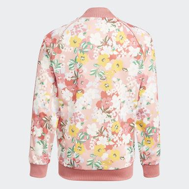 Girls Originals Pink HER Studio London Floral SST jakke
