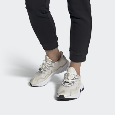 Women Originals Grey OZWEEGO Plus Shoes