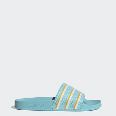 Men's Originals Blue Adilette Slides