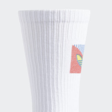 Men's Originals White SPRT Mid-Cut Crew Socks 3 Pairs