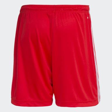 SHORTS INTERNACIONAL 2 Vermelho Homem Futebol
