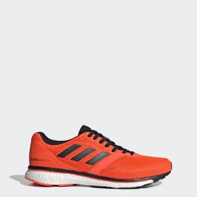 оранжевый Кроссовки для бега Adizero Adios 4